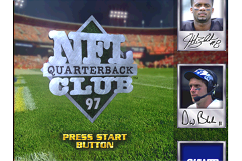 NFL Quarterback Club 97 (1996)(Acclaim) Game