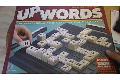 UpWords 3D Word Game Scrabble like - YouTube