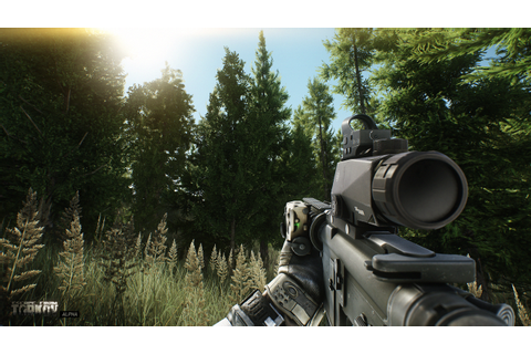 These Escape from Tarkov screens show enhancements made to ...