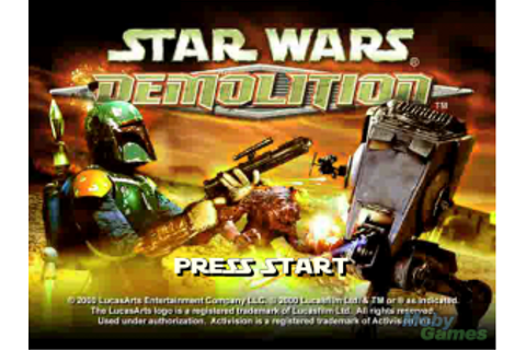 Game Classification : Star Wars: Demolition (2000)