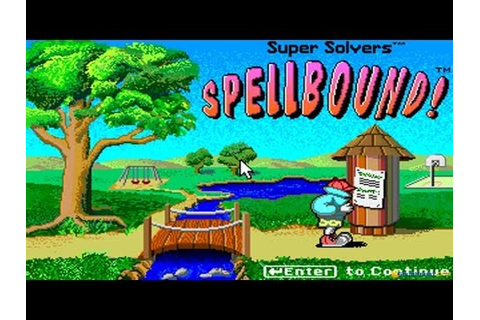Super Solvers: Spellbound! gameplay (PC Game, 1991) - YouTube