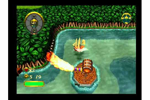 Overboard! a.k.a. Shipwreckers! PS1/PSX - YouTube
