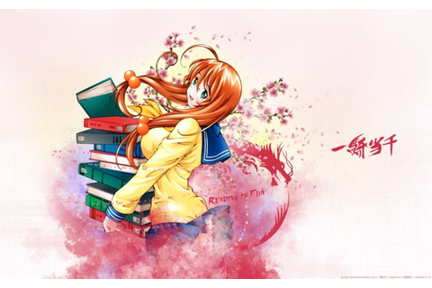Ikkitousen: Reading is Fun | Wallpapers & Artworks by tAG ...