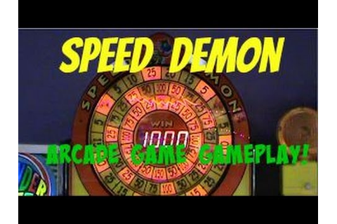 Speed Demon Ticket Arcade Game Gameplay ! - YouTube