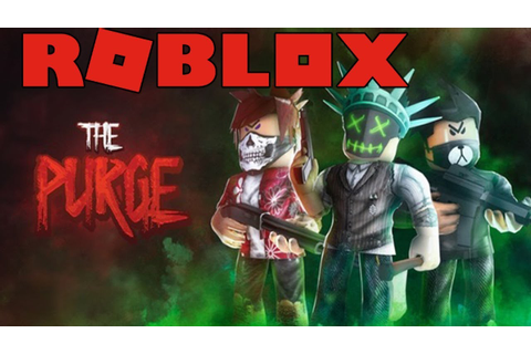 THE PURGE ON ROBLOX (AWESOME GAME!) - YouTube