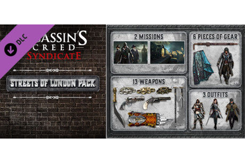 Assassin's Creed: Syndicate - Streets of London Pack for ...