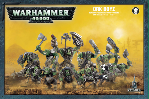 Ork Boyz Games Workshop (NEW)