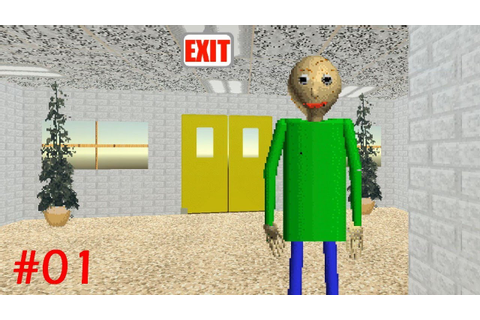 Baldi's Basics in Education and Learning Playthrough ...