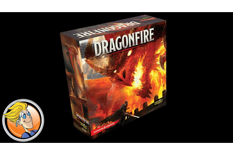 Dragonfire — game preview at Origins Game Fair 2017 - YouTube