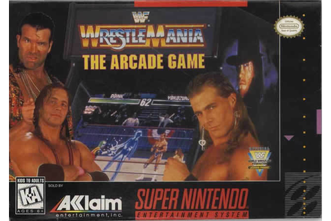 WWF WrestleMania: The Arcade Game (Super Nintendo ...