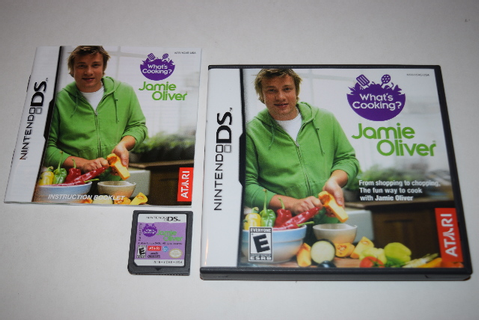 What's Cooking with Jamie Oliver Nintendo DS Video Game ...