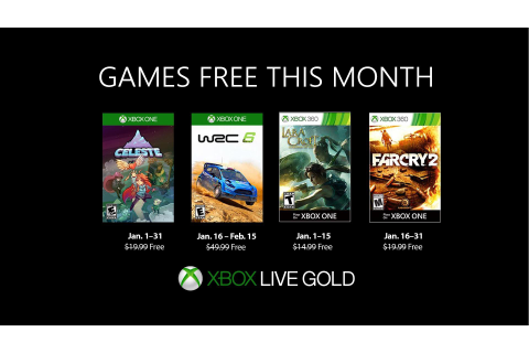 January 2019 Games with Gold Will Start With Celeste ...