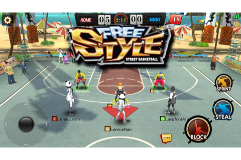 Freestyle Basketball Online di Android Keren Banget ...