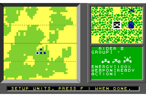 Modem Wars (1988) by Ozark Softscape MS-DOS game