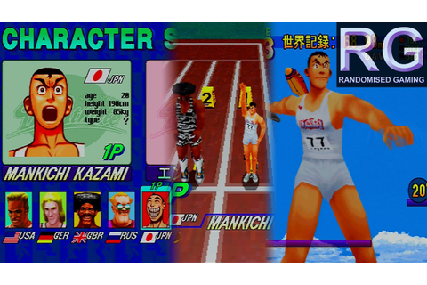 Decathlete / Athlete Kings - Sega Saturn - Mankichi Kazami ...