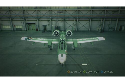 A-10A -THE IDOLMASTER SP- - Acepedia - The Ace Combat Wiki