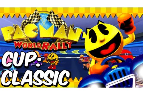 Pac-Man World Rally - Classic Cup - Normal Mode - YouTube