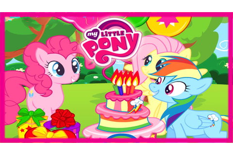 Surprise Birthday Party with Pinkie Pie and Fluttershy ...