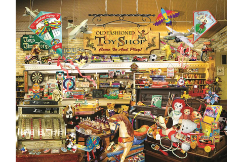 An Old Fashioned Toy Shop Jigsaw Puzzle | PuzzleWarehouse.com