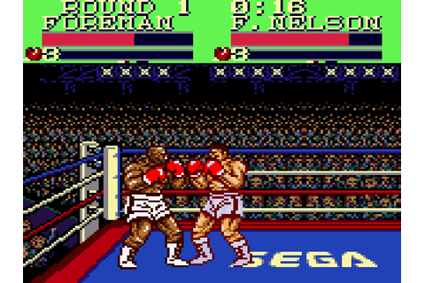 George Foreman's Knock-out Boxing Download Game | GameFabrique