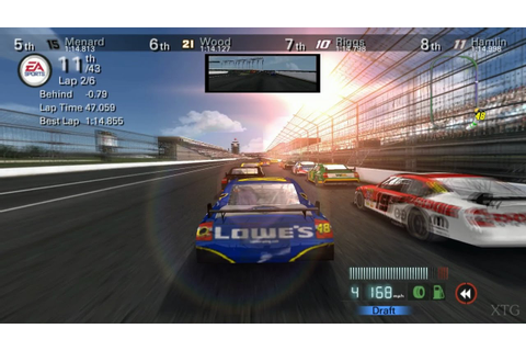 NASCAR 08 PS2 Gameplay HD (PCSX2) - YouTube