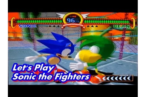 Sonic the Fighters - Playthrough Sonic Let's Play - YouTube