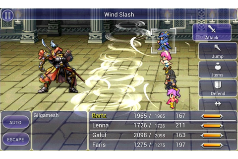 Free Download Final Fantasy V PC Games | Anime PC Games ...