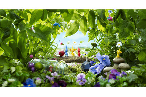 'Pikmin 3' Review Part One: Midnight In The Garden Of Food ...