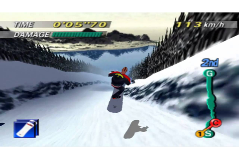 1080 Snowboarding (N64) - FAIL - YouTube