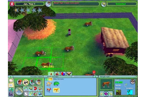Zoo Tycoon 2 Game