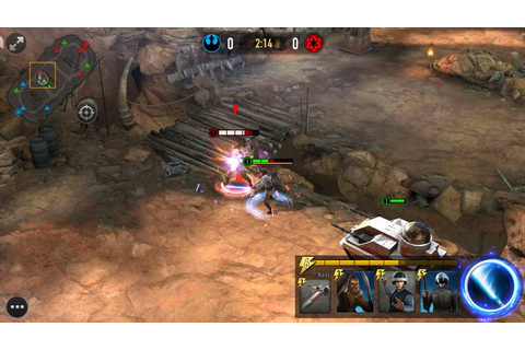 Star Wars Force Arena set to bring PvP combat to mobiles ...
