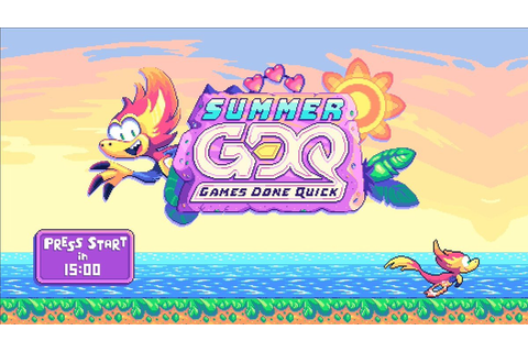 Summer Games Done Quick 2019: Day 2 schedule | Shacknews