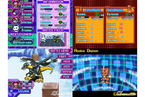 Digimon World DS ~ Dinosaurio-Games