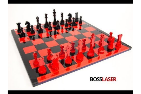 Laser Cut Acrylic Chess Game Set - Free File Download ...