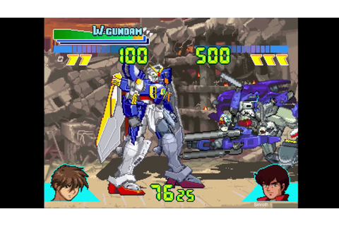 Gundam: Battle Assault | Wing Gundam | Playstation - YouTube