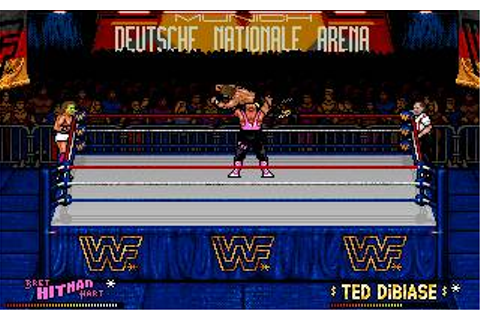 WWF: European Rampage Tour Download (1992 Arcade action Game)