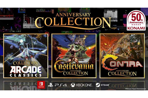 Konami Anniversary Collection series will bring all ...