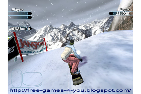 Free Games 4 You: Supreme Snowboarding ( Portable )