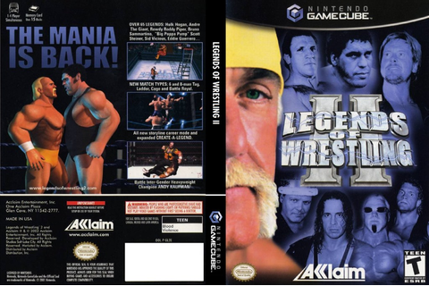 Legends of Wrestling 2 ISO Download