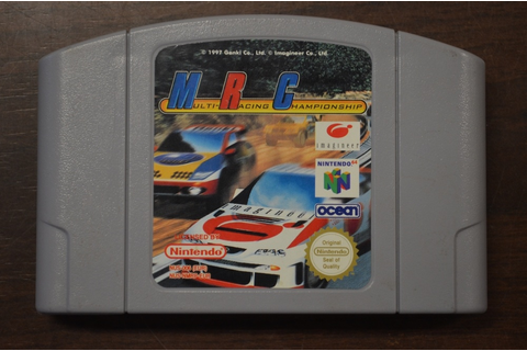 Nintendo 64 game MRC Multi Racing Championship losse ...