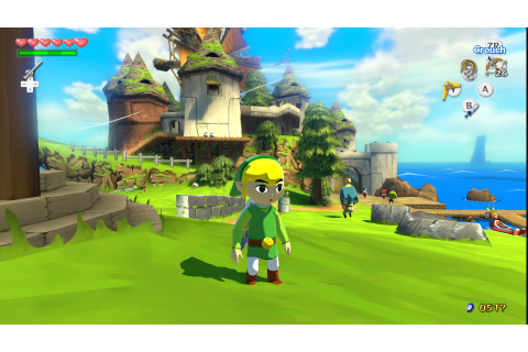 Nintendo Selects The Legend of Zelda: Wind Waker HD Wii U ...