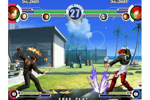 The King of Fighters XI (2005) Arcade game