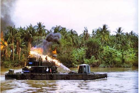 River Patrol Force Vietnam | The Monitors were the ...