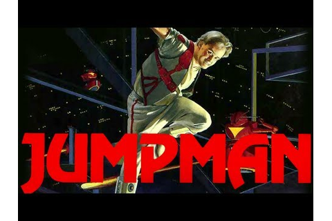 LGR - Jumpman - Atari 8-bit, PC Game Review - YouTube