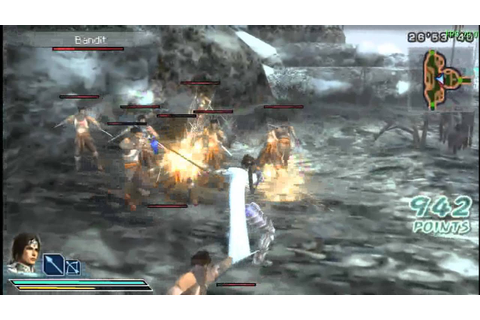 PPSSPP - Dynasty Warriors Strikeforce Gameplay - YouTube