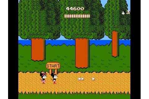 Mickey Mousecapade NES - YouTube