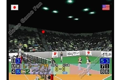 Virtual Volleyball com Spine Card - NihonGames