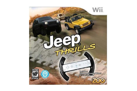 Jeep Thrills w/Wheel Wii Game - Newegg.com