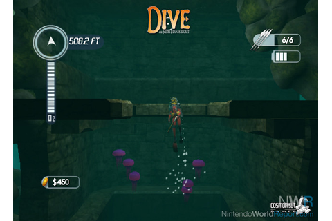 Dive: The Medes Islands Secret - Game - Nintendo World Report