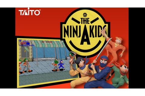 The Ninja Kids Arcade (1990) Playthrough! - YouTube